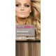 "18"" DIY Weft (Clips Not Attached) Human Hair Extensions #8/613 Light Brown / Blonde Mix"