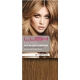 "20"" Clip In Human Hair Extensions FULL HEAD #8 Light Brown"