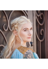 GAME OF THRONES HAIR - DAENERYS TARGARYEN