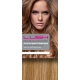 "18"" Deluxe DIY Weft (Clips Not Attached) Human Hair Extensions #18/613 Bleach Blonde"