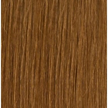 "22"" Holly Hagan Clip In Human Hair Extensions #8 Golden Brown"