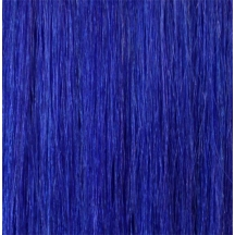 "18"" Deluxe Double Wefted Clip In Human Hair Extensions #BLUE"