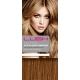 "22"" Clip In Human Hair Extensions FULL HEAD #30 Light Auburn"