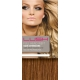 "20"" DIY Weft (Clips Not Attached) Human Hair Extensions #30 Light Auburn"