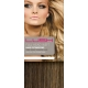 "18"" DIY Weft (Clips Not Attached) Human Hair Extensions #6/27 - Medium Brown/ Caramel Mix"