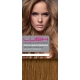 "18"" Deluxe DIY Weft (Clips Not Attached) Human Hair Extensions #8 Light Brown"