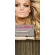 "20"" DIY Weft (Clips Not Attached) Human Hair Extensions #8/27 Light Brown/ Caramel Mix"