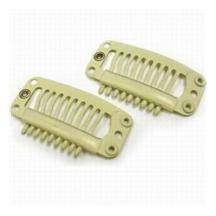 Silicone Hair Extension Clips - Blonde