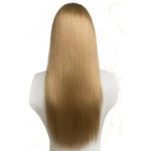 "18"" Deluxe 3/4 Hair Piece #27 Caramel Blonde"