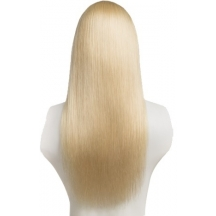 "18"" Deluxe 3/4 Hair Piece #60 Lightest Blonde"