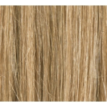 "18"" Clip In Human Hair Extensions FULL HEAD #14 Darkest Blonde"