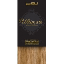 "18"" Clip In Human Hair Extensions ULTIMATE FULL HEAD #18/613 Blonde Highlights"