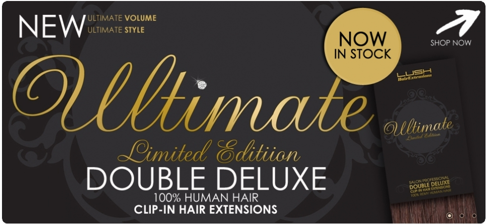 Lush Hair Extensions UK, Real & wavy clip, Human Hair Extensions