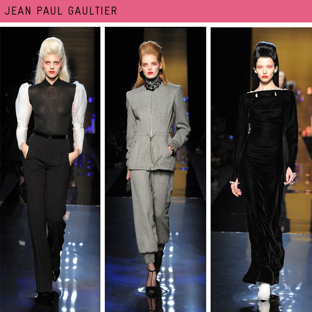 Couture Fashion Week Jean Paul Gaultier