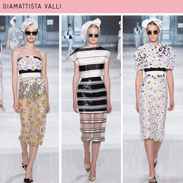 Couture Fashion Week Giamattista valli