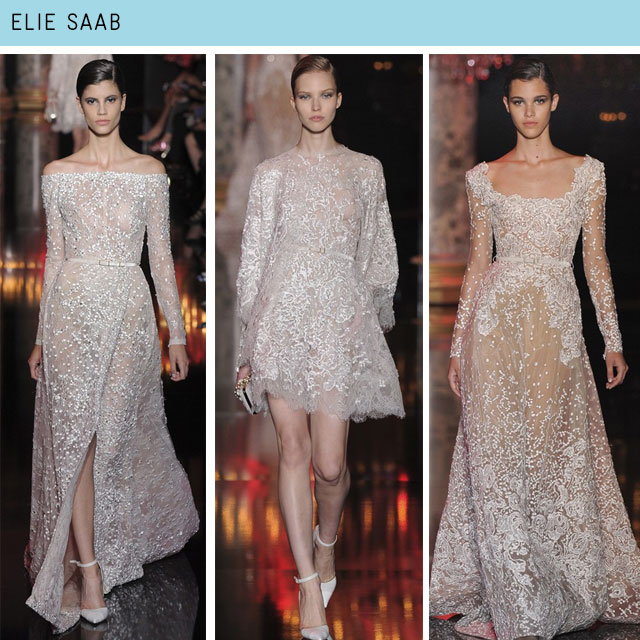 Couture Fashion Week Elie Saab