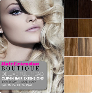 Lush hair extensions deluxe double wefted clip in remy human hair clip in human hair extensions deluxe double wefted full head from only 4999 pmusecretfo Gallery