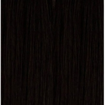 "14"" Deluxe Double Wefted Full Head Clip In Human Hair Extensions #1 Jet Black"