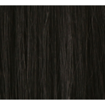 "18"" Ultimate Double Deluxe Weft (Clips Not Attached) Human Hair Extensions #1 Jet Black"