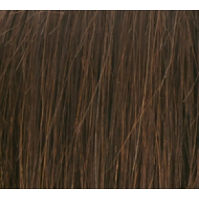"18"" Ultimate Double Deluxe Weft (Clips Not Attached) Human Hair Extensions #4 Dark Brown"