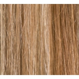 "18"" Ultimate Double Deluxe Weft (Clips Not Attached) Human Hair Extensions #8/613 Light Brown Blonde Highlights"