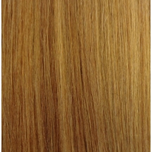 "18"" Pre Bonded Nail Tip Hair extensions #10/16 Lightest Brown / Dark Honey Blonde - (25 Strands)"