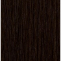 "18"" Pre Bonded Nail Tip Hair extensions #1B Natural Black - (25 Strands)"