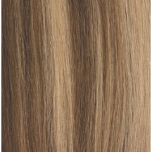 "18"" Pre Bonded Stick Tip Hair extensions #8/613 Light Brown / Blonde Mix - (25 Strands)"