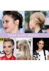 Trend alert: Braids!