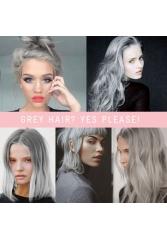 Grey hair? yes please