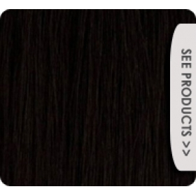 "24"" Deluxe Double Wefted Clip In Human Hair Extensions #1 Jet Black"
