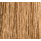 "16"" Deluxe Double Wefted Clip In Human Hair Extensions #10/16 Lightest Brown/Dark Honey Blonde highlights"