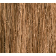"18"" Clip In Human Hair Extensions FULL HEAD #10 Light Brown"