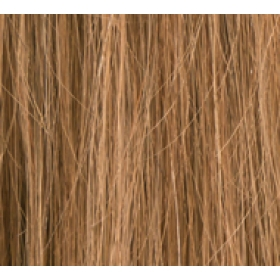 "20"" Clip In Human Hair Extensions FULL HEAD #10 Lightest Brown"