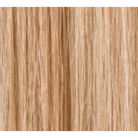 "20"" DIY Weft (Clips Not Attached) Human Hair Extensions #16/613 Dark Honey Blonde / Bleach Blonde"