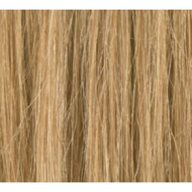 "20"" Deluxe Double Wefted Clip In Human Hair Extensions #18 Ash Brown"