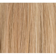 "14"" Deluxe Double Wefted Clip In Human Hair Extensions #18/613 Ash Blonde Highlights"