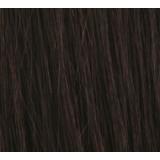 "12"" Clip In Human Hair Extensions FULL HEAD #1b Natural Black"