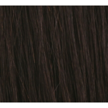 "18"" Deluxe Double Wefted Clip In Human Hair Extensions #1b Natural Black"