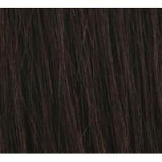 "22"" Clip In Human Hair Extensions FULL HEAD #1B Natural Black"