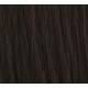"16"" Deluxe DIY Weft (Clips Not Attached) Human Hair Extensions #1B Natural Black"