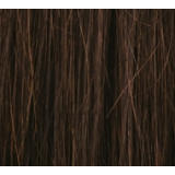 "14"" Deluxe Double Wefted Clip In Human Hair Extensions #2 Darkest Brown"