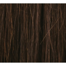 "20"" DIY Weft (Clips Not Attached) Human Hair Extensions #2 Darkest Brown"