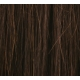 "22"" Clip In Human Hair Extensions FULL HEAD #2 Darkest Brown"