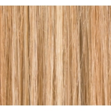 "20"" Clip In Human Hair Extensions FULL HEAD #27/613 Caramel Blonde Highlights"