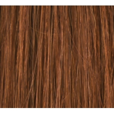 "14"" Deluxe Double Wefted Clip In Human Hair Extensions #30 Light Auburn"