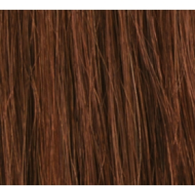 "20"" Clip In Human Hair Extensions FULL HEAD #33 Dark Auburn"
