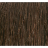 "16"" Deluxe Double Wefted Clip In Human Hair Extensions #4 Dark Brown"