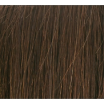 "14"" Deluxe Double Wefted Clip In Human Hair Extensions #4 Dark Brown"