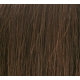 "22"" Deluxe Double Wefted Clip In Human Hair Extensions #4 Dark Brown"